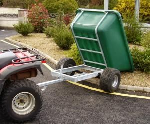 JFC Quad Tipping Trailer