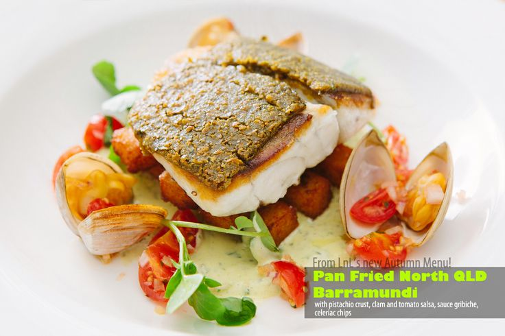 To give you a good Monday-dinner idea...how about a PAN FRIED NORTH QLD BARRAMUNDI, so good, it's not even funny! 8-)