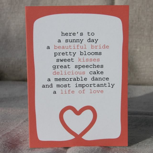 I'm selling Life of Love Wedding Card - A$3.00 #onselz