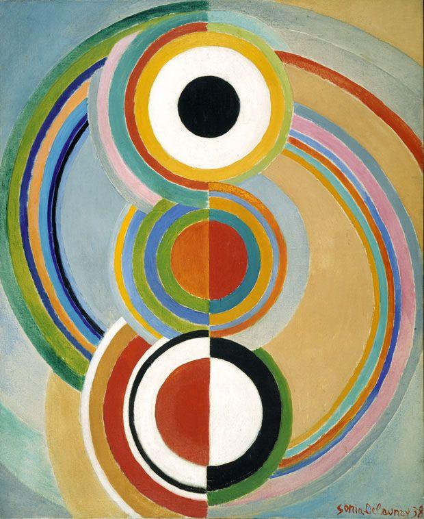 Rythme. Sonia Delaunay, 1938.                                                                                                                                                                                 More