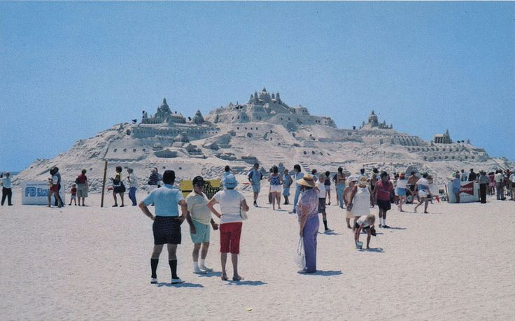 April 28 – Biggest Sand Castle in the World!