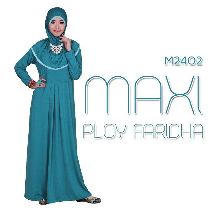 MAXI PLOY FARIDHA 3 WARNA | Warung Muslimah