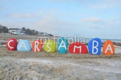 Çarsamba, wednesday in turkish language