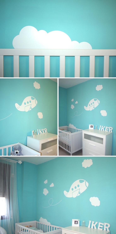 Iker ya lo tiene todo a punto personalizaci n de for Vinilos infantiles bebe