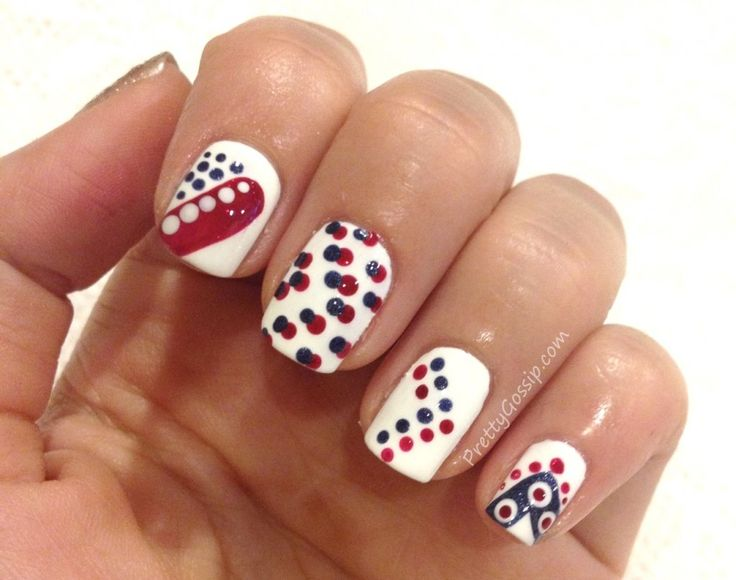69 best DIY 4th of July Nails images on Pinterest | 4th of ...