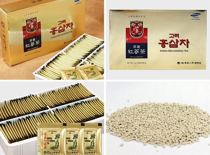 Korean Red Ginseng Extract Root Tea Natural Health (3g x 100bags)  #KOREANREDGINSENGTEA