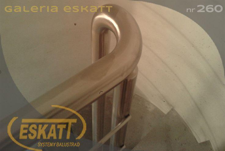 Stainless steel railing with stainless steel horizontal filling #balustrade #eskatt #construction #stairs