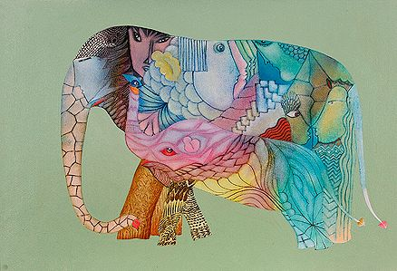 Babu Xavier - No.735 - Elephant Series @ | StoryLTD