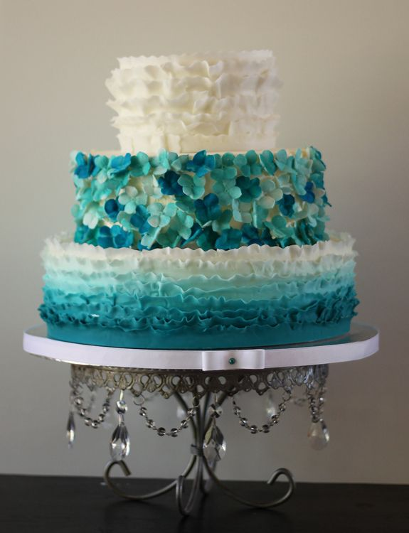 teal coloured wedding cakes 70 best turquoise teal seafoam green blue images 20779