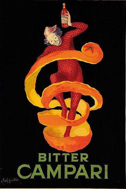 Poster by Leonetto Cappiello, 1921, Bitter Campari. (I)