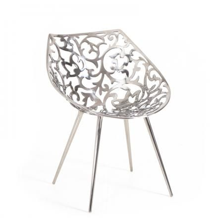 Miss Lacy by Philippe #Starck for #Driade #design #chairs #metallic #homedecor