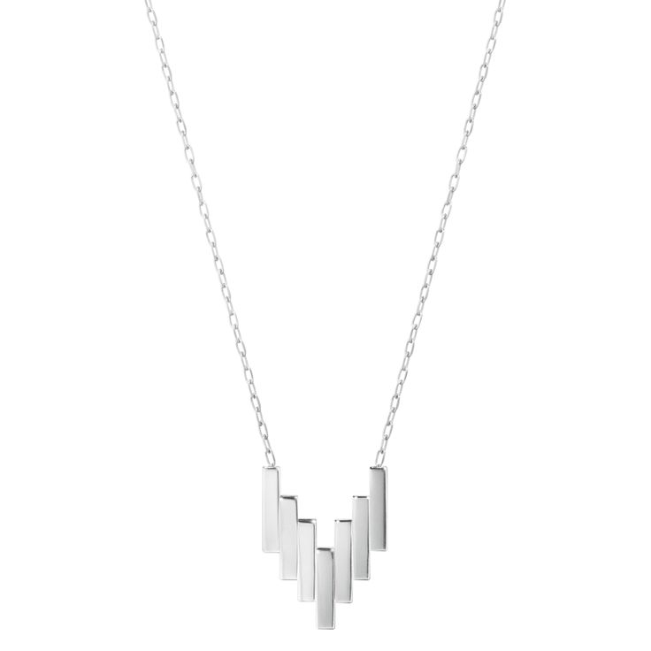 Georg Jensen Necklace Aria Silver | C W Sellors Fine Jewellery and Luxury Watches
