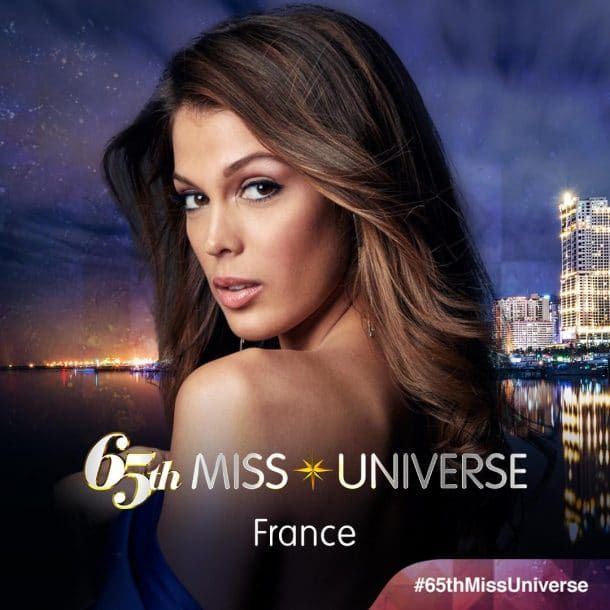 Iris Mittenaere (Miss France 2016) vient d'être élue Miss Univers: 2ème française à remporter le titre en 65 ans!