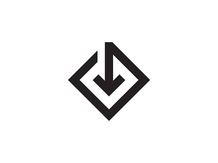 The 25+ best Arrow logo ideas on Pinterest | S logo, Down arrow ...