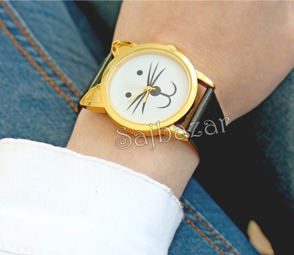 www.sajbazar.com  black cat watch