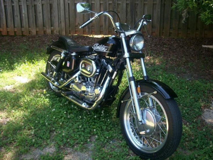 19 72 Harley Davidson Sportster Images Pinterest 1972 Xlh Vintage