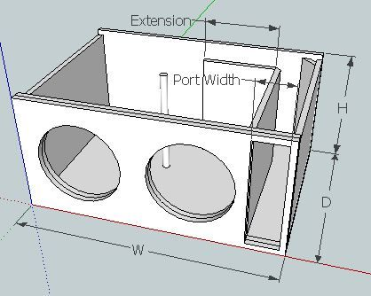 17 best ideas about 12 inch subwoofer box on pinterest for L ported sub box design