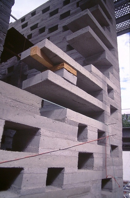 Kolumba Art Museum, Cologne    Arquitect: Peter Zumthor. Construction phase of the building