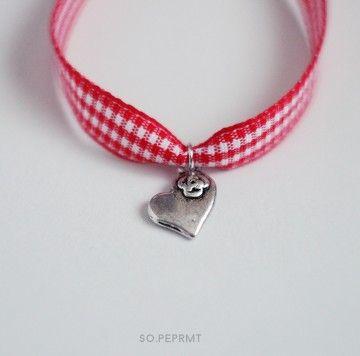 Sju - Heart #sopeppermint #sopeprmt #heart #bracelet