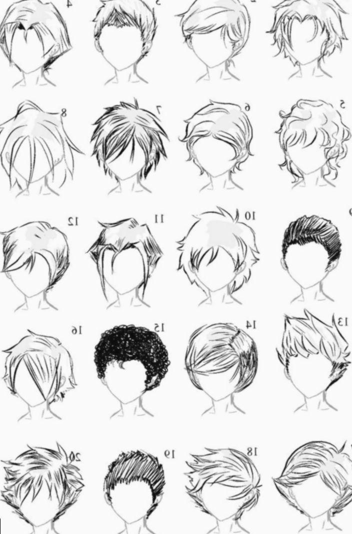 12 Anime Sketch Boy Hair Boy Hair Drawing Anime Boy Hair Manga Hair
