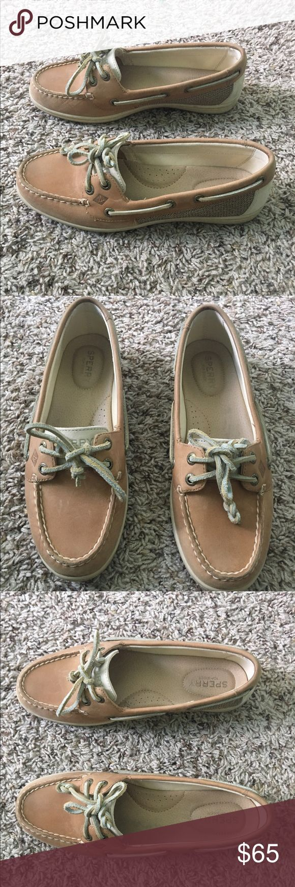 Sperry's Women's boat shoes size 7.5 Sperry's Women's boat shoes that are practically new! Worn 3 times with no scratches. Size 7.5. New with box. Sperry Shoes Flats & Loafers