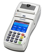 The FD400Ti Encrypted terminal is a wireless, hand-held point-of-sale device that you can easily use remotely to provide customers with the convenience of a full range of payment options.    You'll have access to wireless downloads wherever you are. And with the touch-screen interface, it is easy to use. This terminal enables you to receive the full range of solutions for payment processing, including credit, debit, gift cards, paper warranty and EBT, all from a single provider.