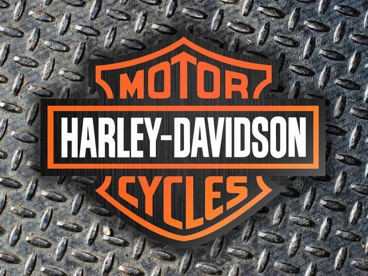 Harley Davidson Logo With Diamond Plate Background HD Wallpaper on MobDecor http://www.mobdecor.com/b2b/wallpaper/221418-harley-davidson-logo-with-diamond-plate-background
