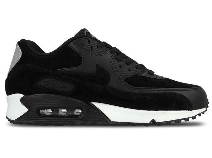 Nike Air Max 90 Premium Rebel Skulls - Black / Off White / Silver – West Brothers
