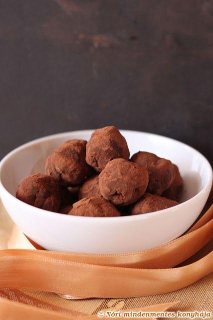 Nóri mindenmentes konyhája: Tahinis étcsokoládé trüffel