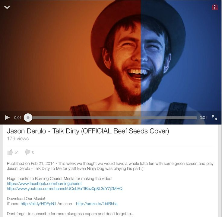 Checkout The Beef Seeds official cover Jason Derulo Talk Dirty #keepitbeefy
