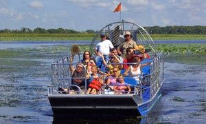 Groupon - Airboat Tour of Florida Everglades for One or Two from Big Toho Airboat Rides (Half Off) in Downtown Kissimmee. Groupon deal price: $30