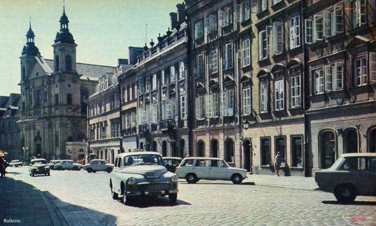 """ul. Freta  fot. 1971r. Jacek Sielski, źr. Ilustrowany Tygodnik """"Stolica"""", źr. fotopolska.eu"""