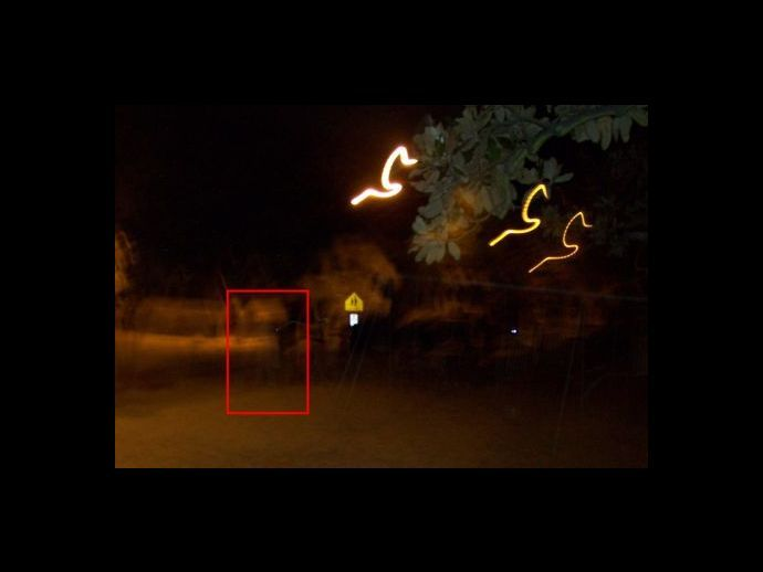 Ghost Pictures: Savannah Apparition Ghost Picture
