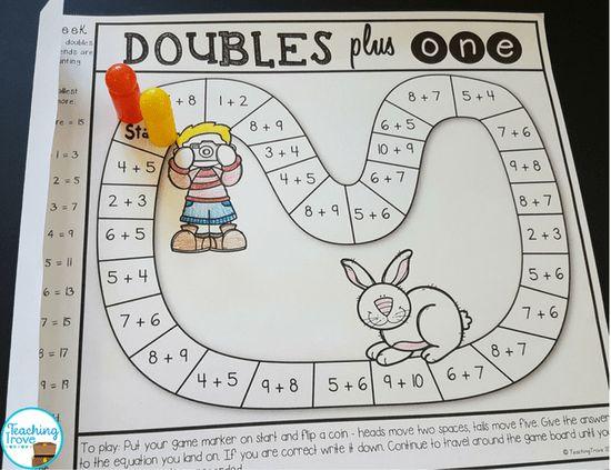 Use homework games to make consolidating math fun.