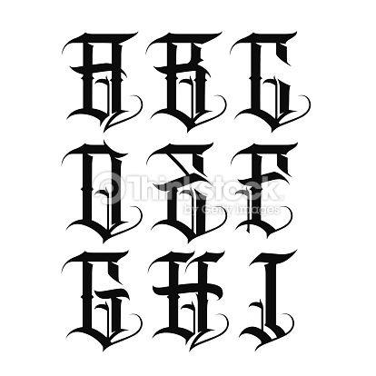 gangster letters - Pesquisa Google