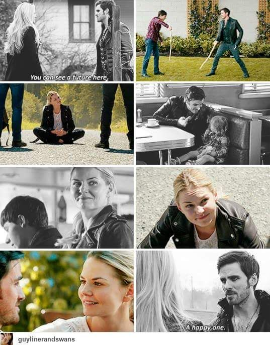 Emma and Killian wanting that future together