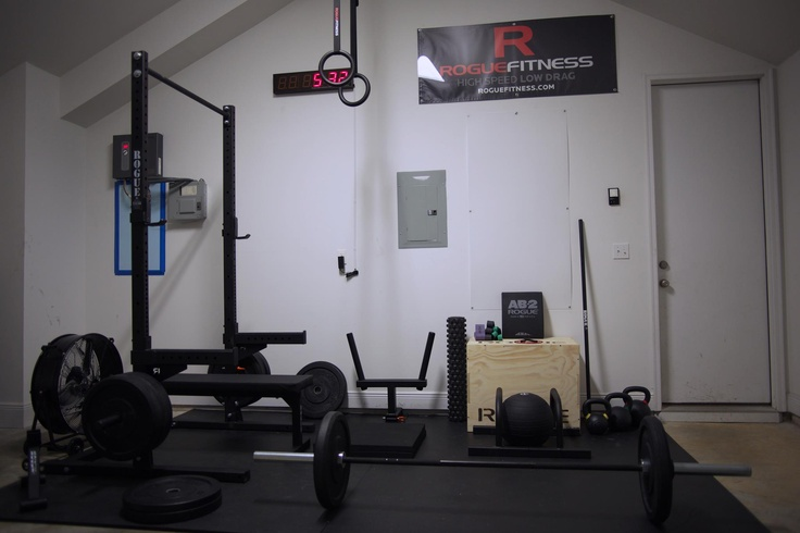 Best garage gym images on pinterest exercises