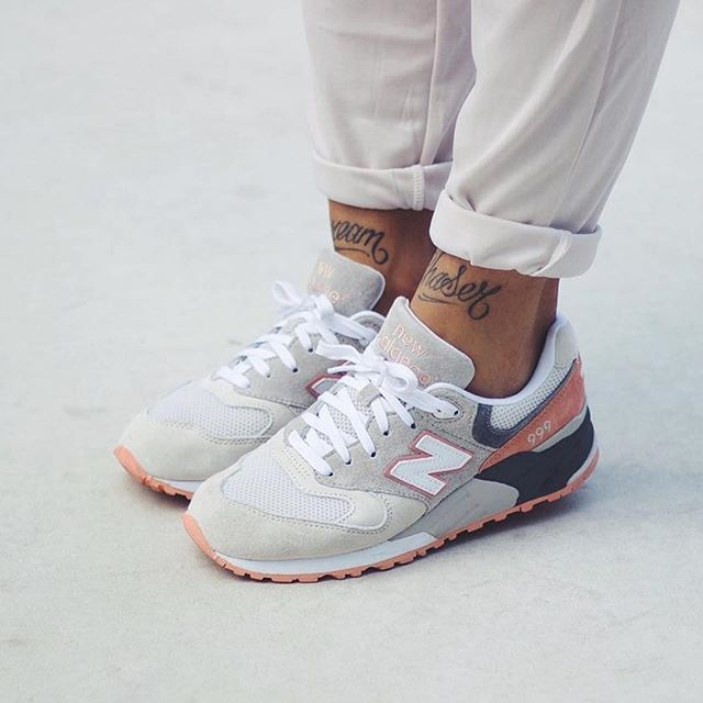 new balance rose gold et beige