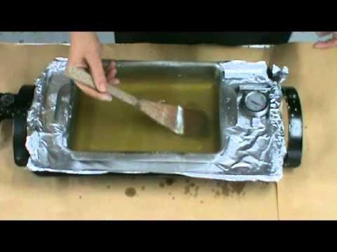 ▶ Tutoriel sur la préparation du médium encaustique - YouTube