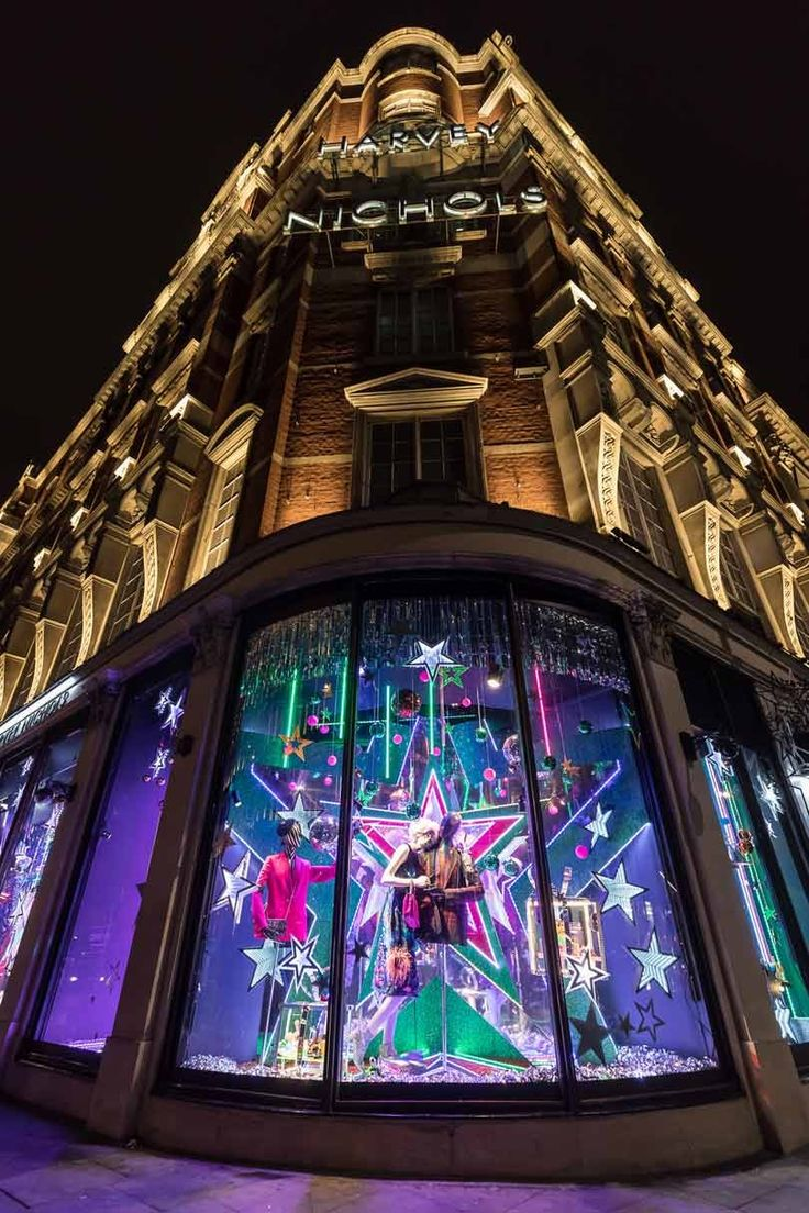 In Pictures: Harvey Nichols 2017 Christmas Windows
