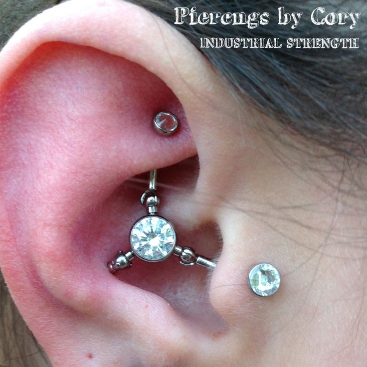 Fourchette piercing