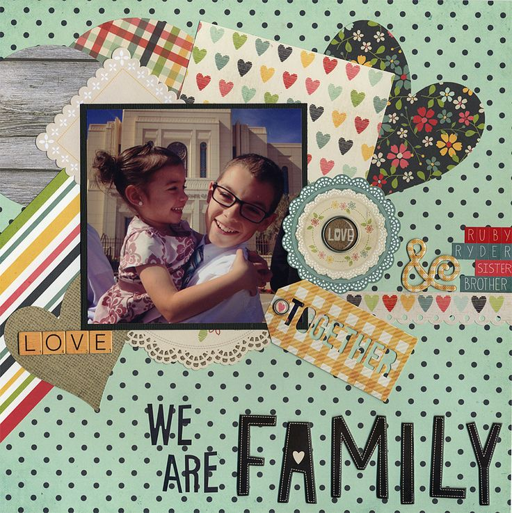 1549 best Family Scrapbooking images on Pinterest ...