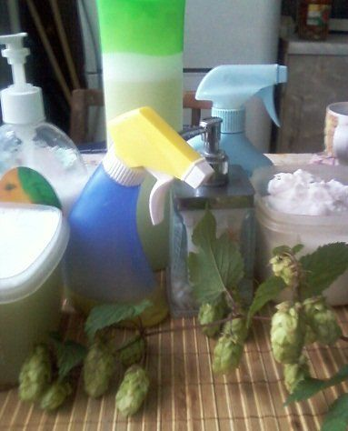 Домашние чистящие, освежители, моющие, стирающие, пятновыводители - приступаю...