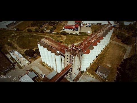 Postapokaliptyczne silosy zbożowe - Drone X Vision - YouTube