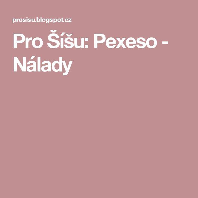 Pro Šíšu: Pexeso - Nálady