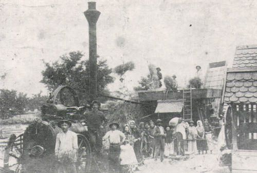 Među prvima u selu: nesamohodna vršalica (početak veka)