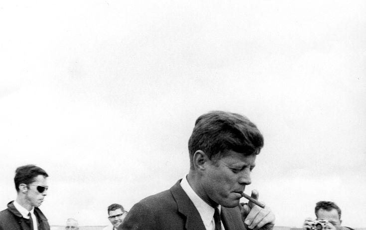 President Kennedy's arrival in Hyannisport, Massachusetts on May 11th, 1963. (Cecil Stoughton, White House / John F. Kennedy Library)