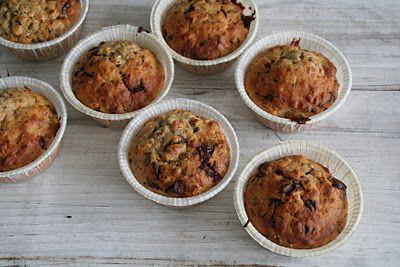 Mat På Bordet | En matblogg med oppskrifter fra morgen til kveld | Bananmuffins uten sukker