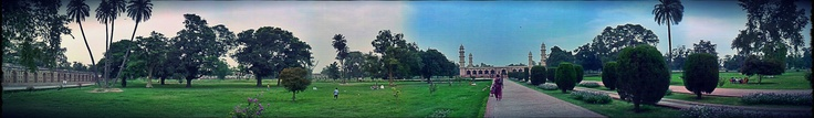 Panoramaic View of Jehangir's Tomb