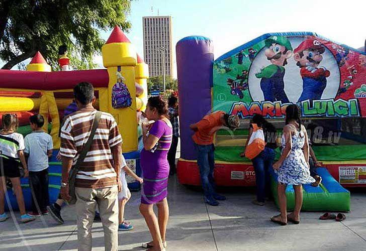 Familias se recrean en Parque Luis Alfonso de Managua | Noticias de Nicaragua